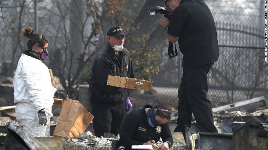 MISSING PERSONS CENTER - California Camp Fire