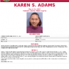 Karen Sue Adams FBI Poster