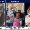 Mother- Guecoba Dow,   Jerreece Mitchell Jr., 12, Joi Mitchell, 8, and one-month-old Clifford McNeil