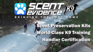 Scent Evidence K9 1 Minute Overview