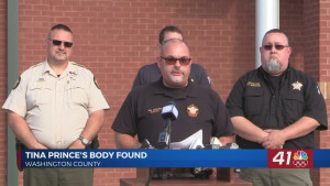 Tina Prince's body found along rural Washington County road, arrest made in case